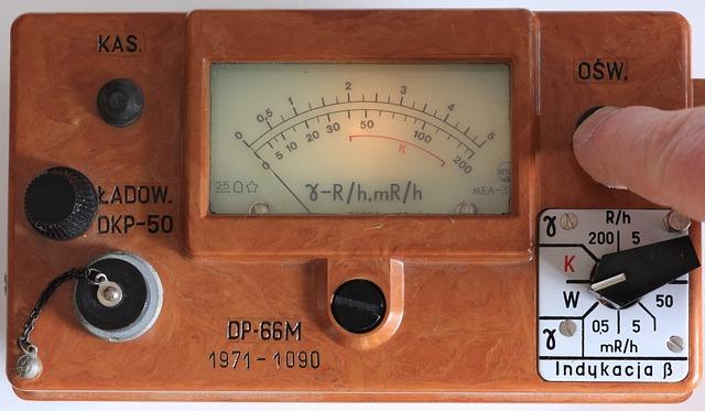 ラドン温泉 放射線量